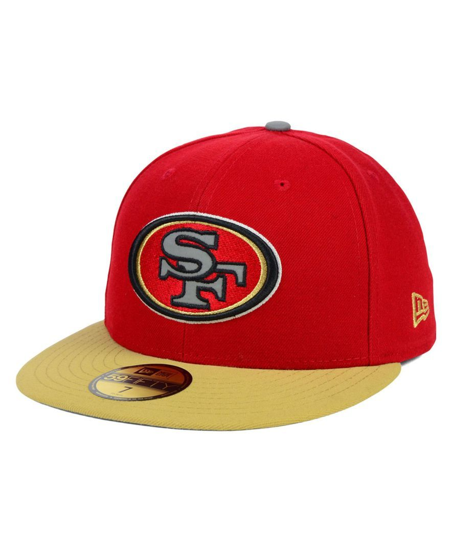 New Era San Francisco 49ers Thanksgiving On Field Reflective 59FIFTY Cap