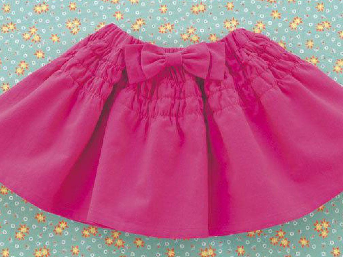 ff0299db3c291 大きなリボンがアクセントでかわいい!女の子用の手作りスカートの作り方 ...