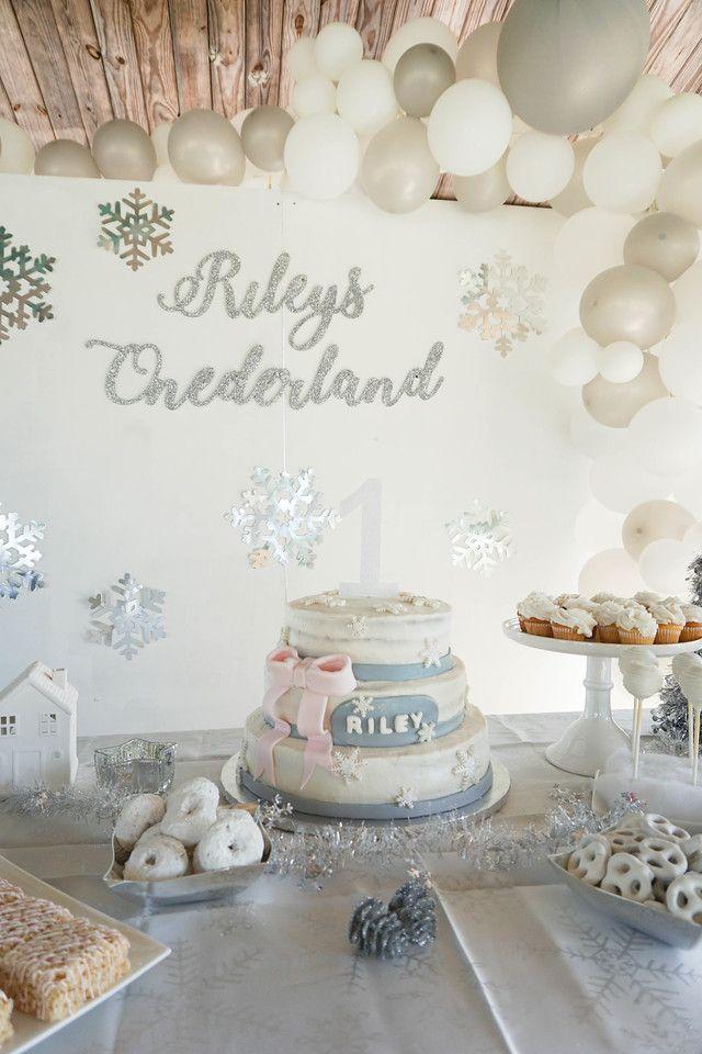 Winter Onederland - Baby's First Birthday Party -