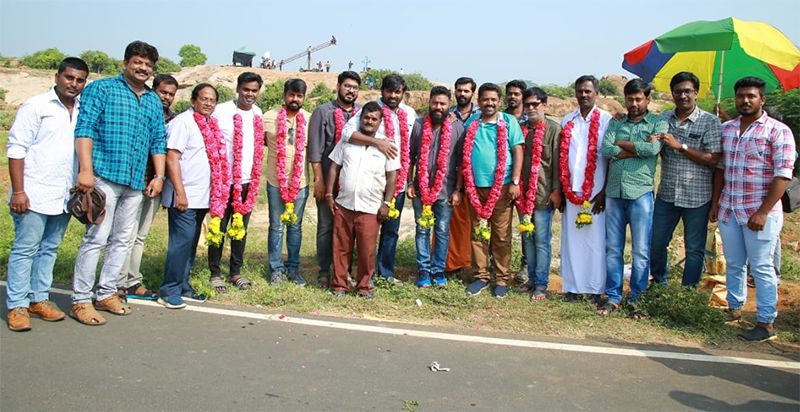 Vijay Sethupathi At The 'YSR Films Production No.2