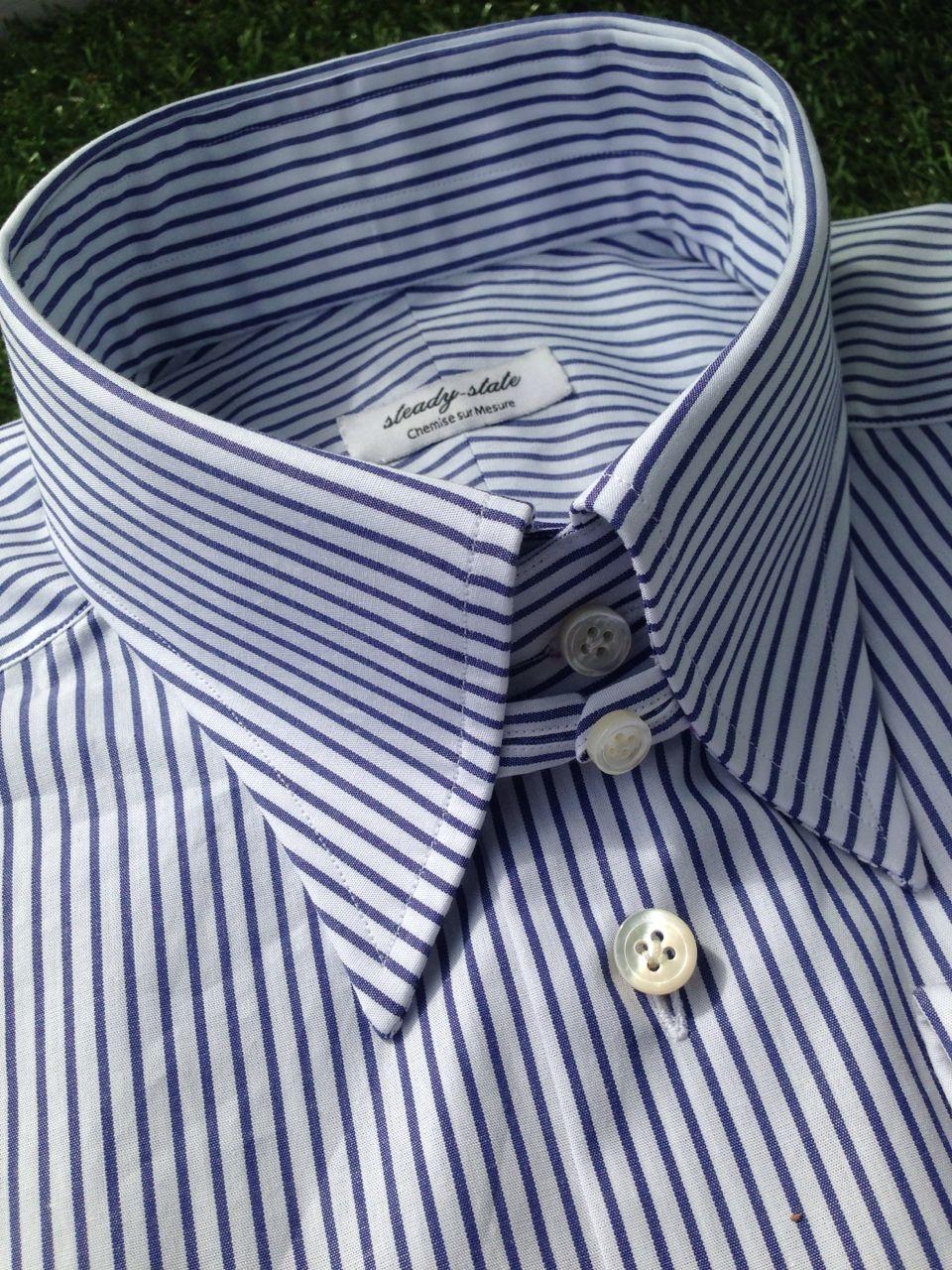 Tab Collar Shirt Wardrobe Pinterest Collar