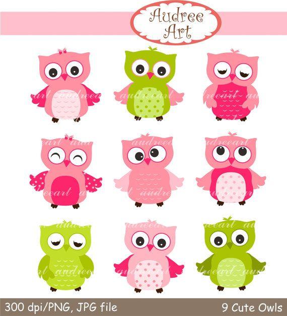 11+ Cute owl clipart pink info