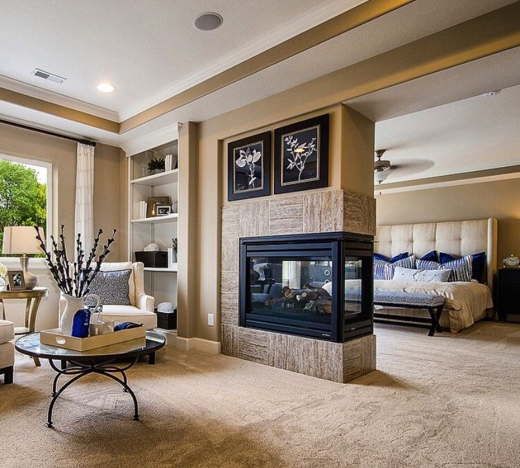Best Divided Master Bedroom And Sitting Room With Shared 400 x 300