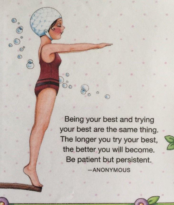 Handmade Fridge Magnet-Mary Engelbreit Artwork-Being Your Best ...