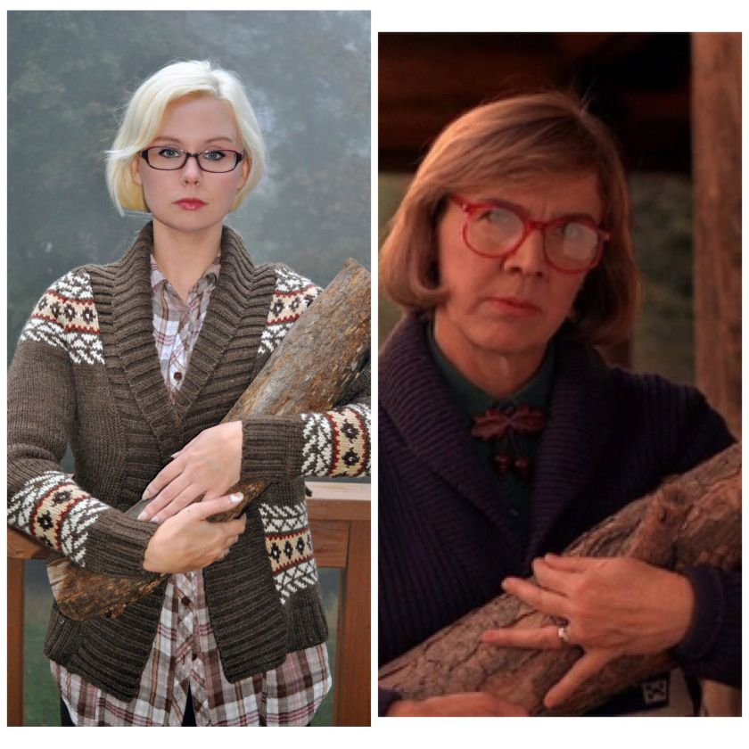 Log Lady and Laura Palmer Costumes