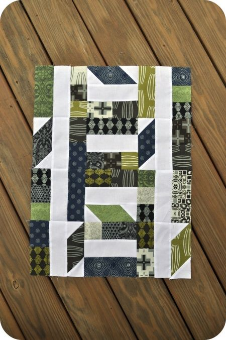 Collaborate and Commemorate Mini Quilt / Signature Block Tutorial by John Adams on the Modern Quilt Guild Blog