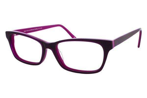 2863a40f825 Heartland 1219 Eyeglasses Matte Purple Light Purple