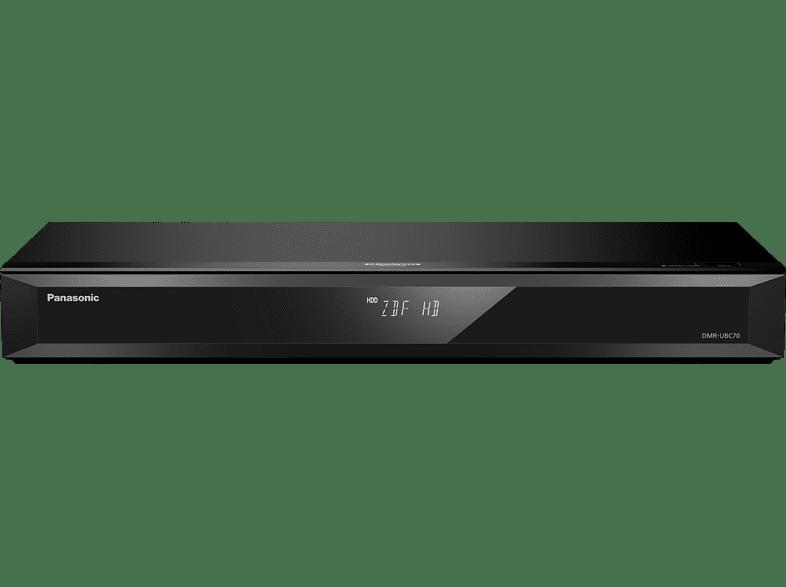 Panasonic Dmr-ubc70 Egk Uhd Blu-ray Recorder, Schwarz ,schwarz