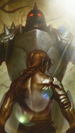 The Elric brothers (Fullmetal Alchemist Brotherhood)