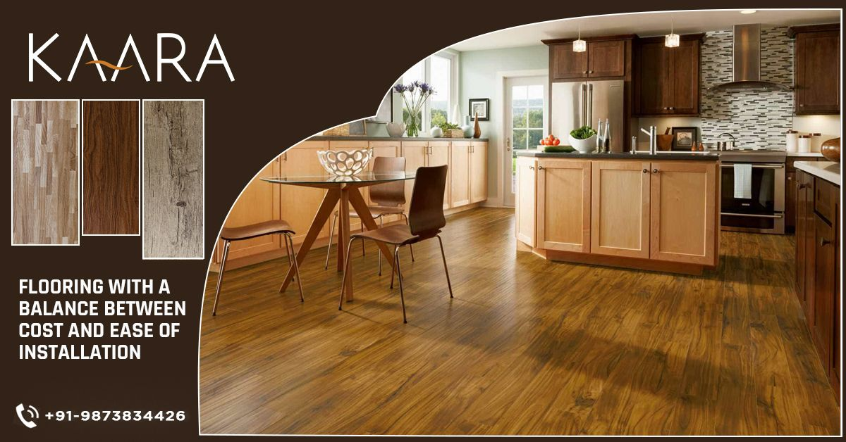 When you plan to get a wooden flooring, Get the best. Get KAARA's specialized Wooden Vinyl Flooring with great looks and Budget Friendly Pricing Policy. A perfect balance between cost and ease of Installation. To buy, call us at +91-9873834426 OR mail us your details at contact@kaaradecor.com #Kaara #Kaaradecor #WoodenFlooring #SpecializedwoodenVinyl #Specializedflooring #Budgetfriendly #Affordable #VinylFlooring #Flooring