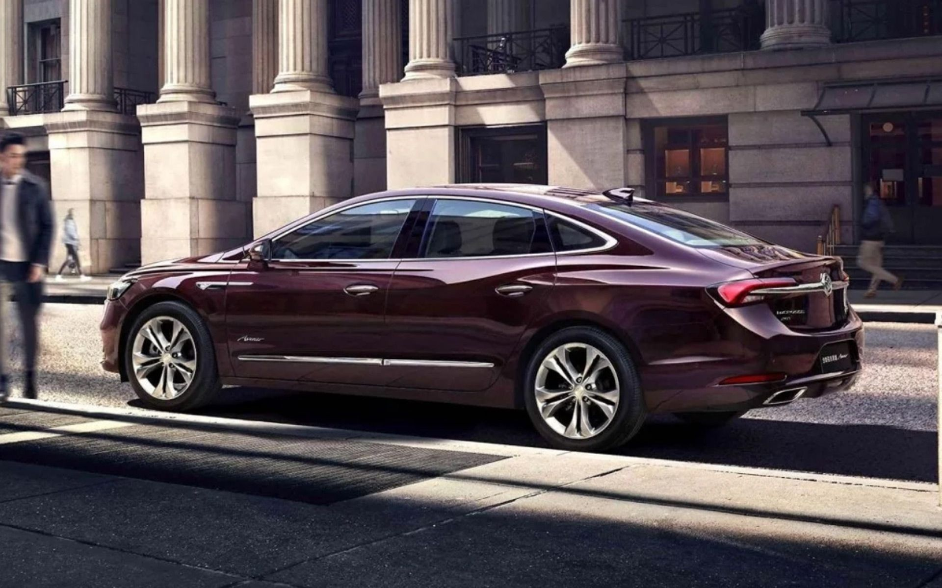 Buick Unveils The 2020 Lacrosse For China At 2019 Shanghai Auto Show While Gm Had Announced To Kill The Model In The Us In 2020 Buick Lacrosse Buick Sedan Buick