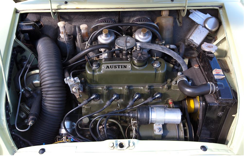 Austin Mini Mk1 Cooper S Engine Bay Mini Mini Morris Mini