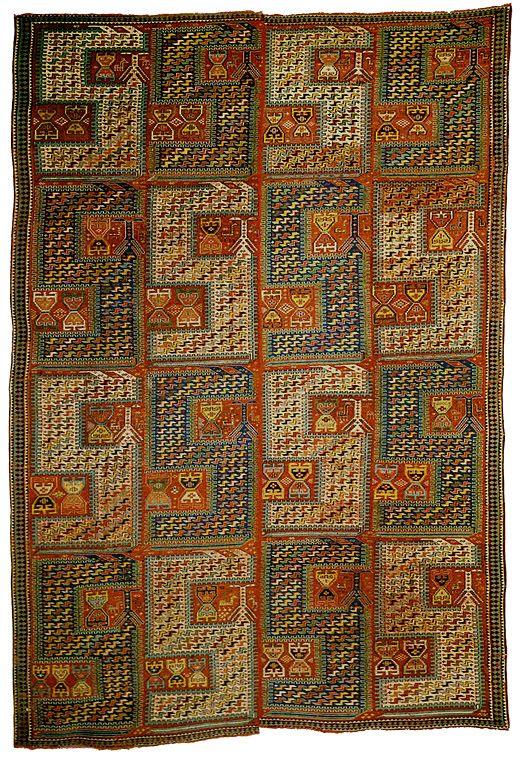 Dragon SIleh, mid 19th century. 185 x 285 cm.
