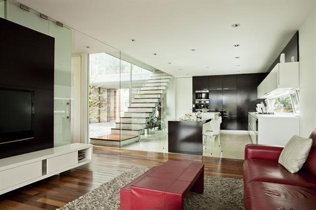 Tres Casas Modernas Cada Una Con Su Estilo Casas Modernas Casa Moderna Decoracion De Cocina Moderna