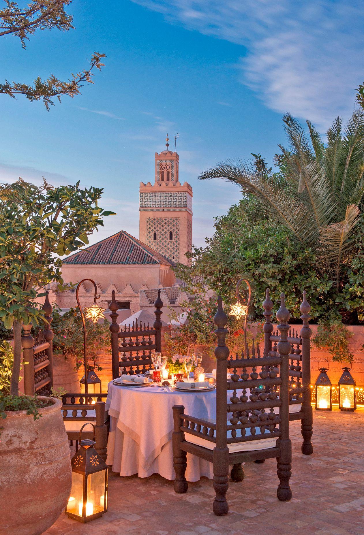 La Sultana Marrakech Morocco Luxury Hotel Review By