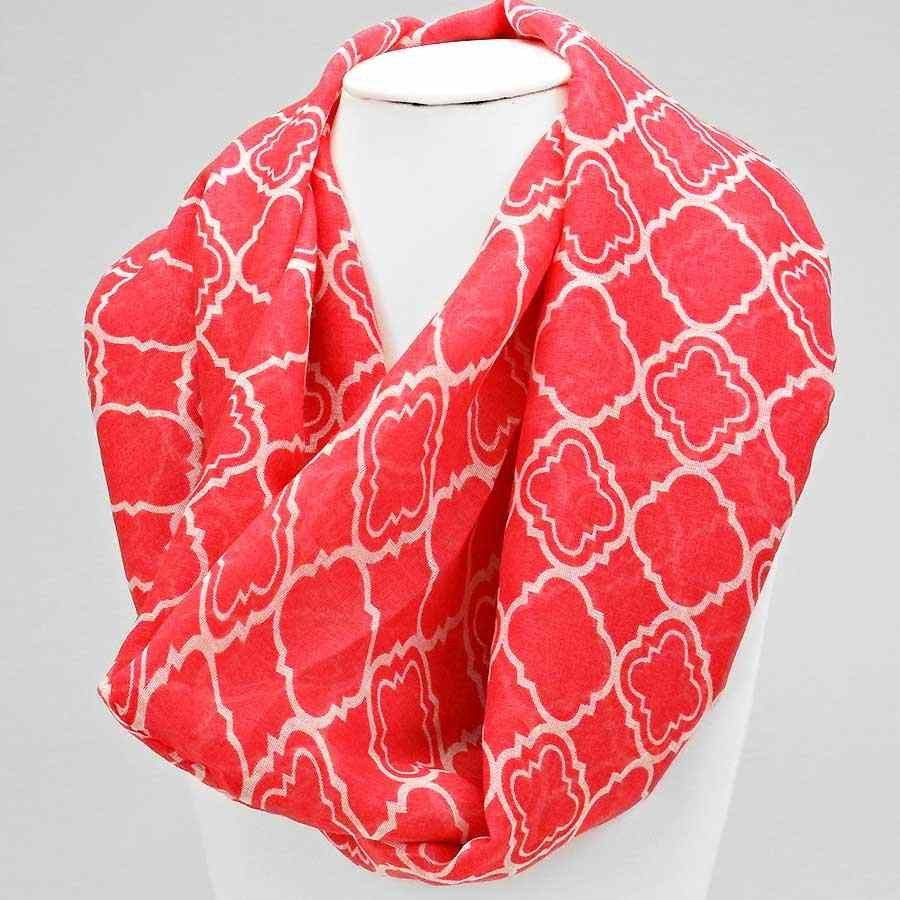 Pink Moroccan Scarf