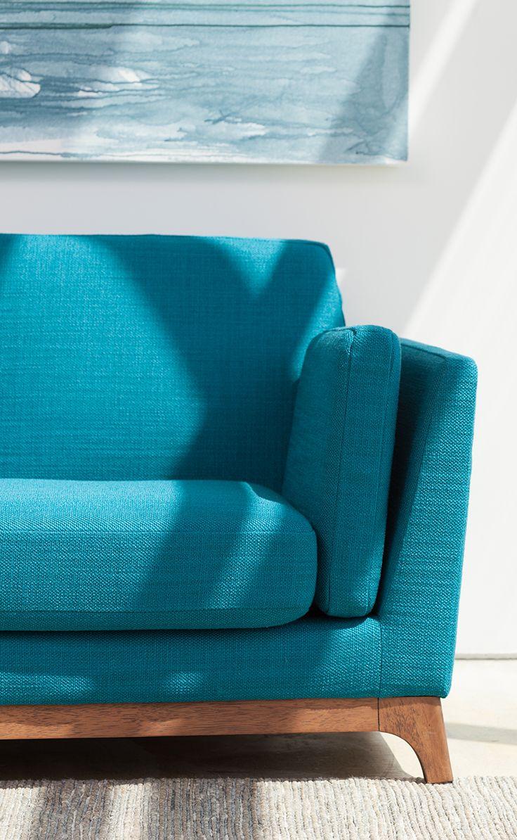 Ceni Lagoon Blue Sofa Blue Sofa Turquoise Couch Turquoise Sofa