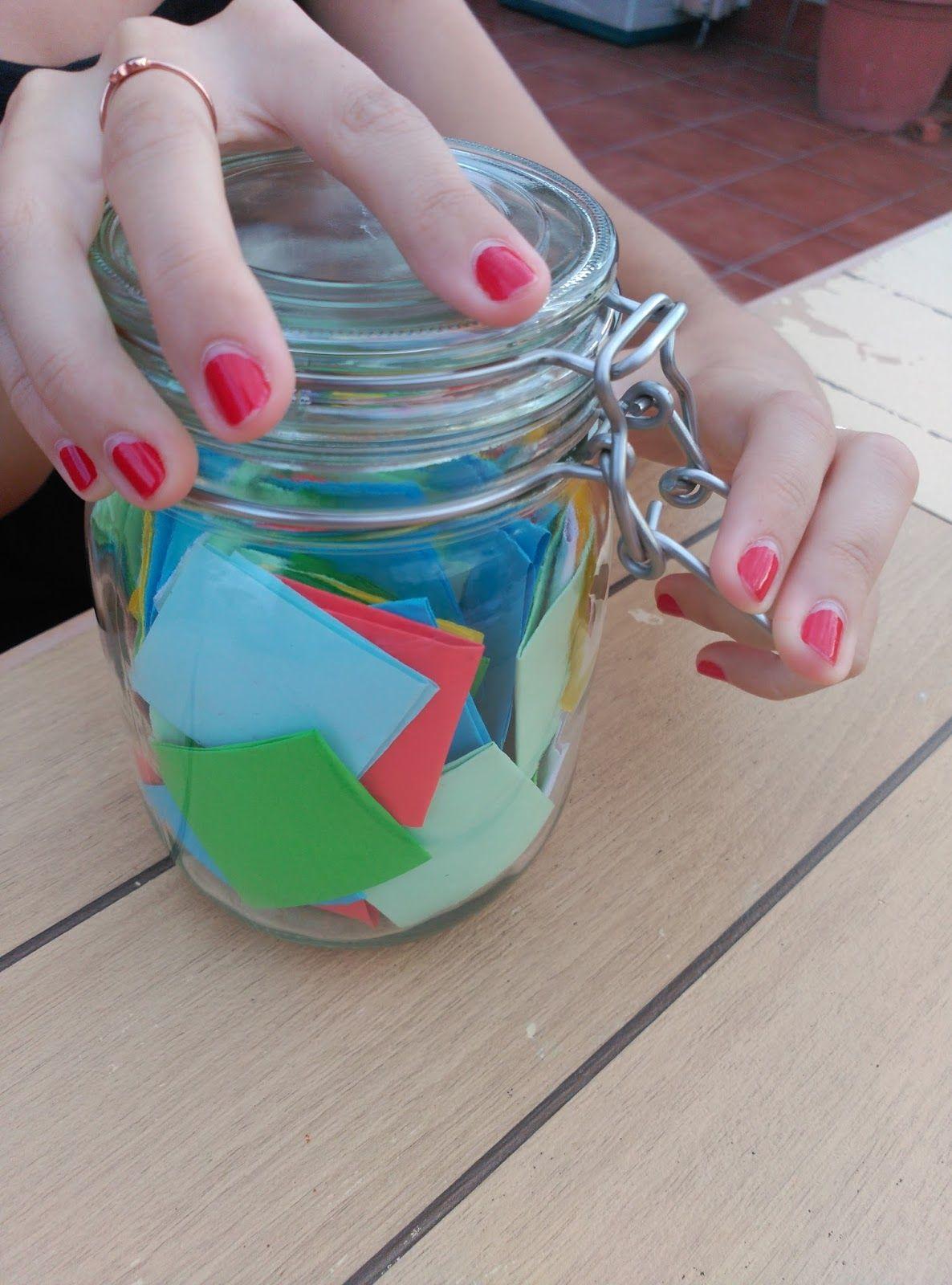 El tarro de las cosas que nos hacen ser tú y yo origami
