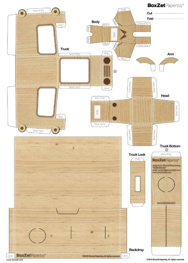 Blog Paper Toy papertoy Craft Box template preview BoxZet Craft Box de ByManStudio  sc 1 st  Pinterest & BoxZet Craft Box de ByManStudio | Paper toys Box templates and ... Aboutintivar.Com
