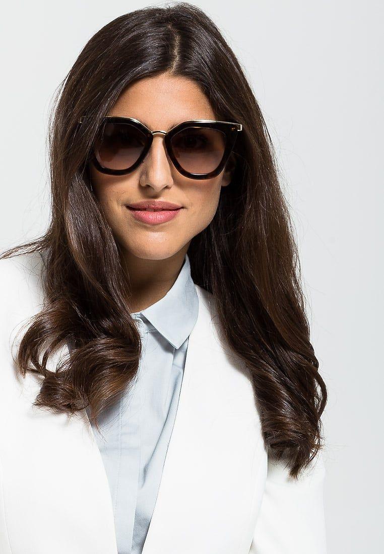 prada lunettes de soleil havana prada lunettes de soleil et lunettes. Black Bedroom Furniture Sets. Home Design Ideas