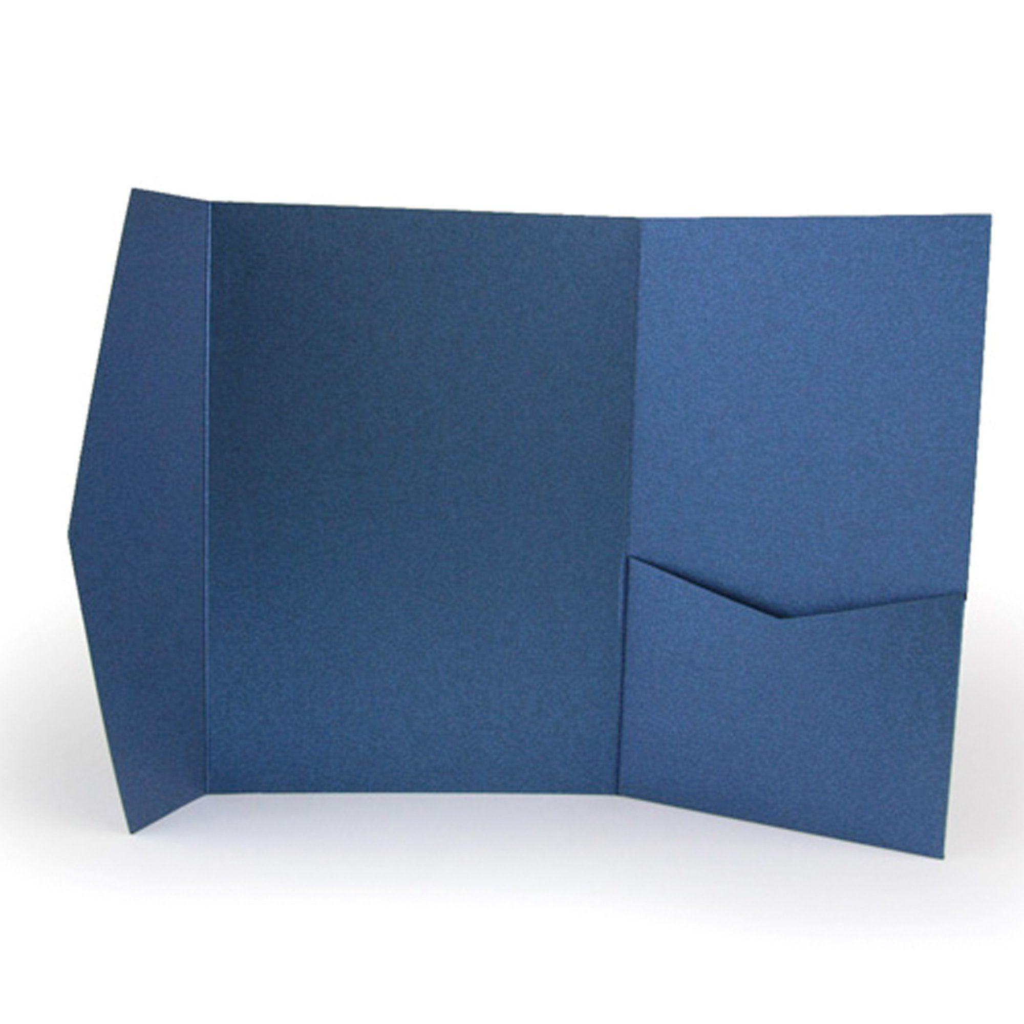 A7 Pocket Envelope Metallic Dark Blue 176 Holder Wedding Blue Envelopes Personalized Baby Shower Invitations