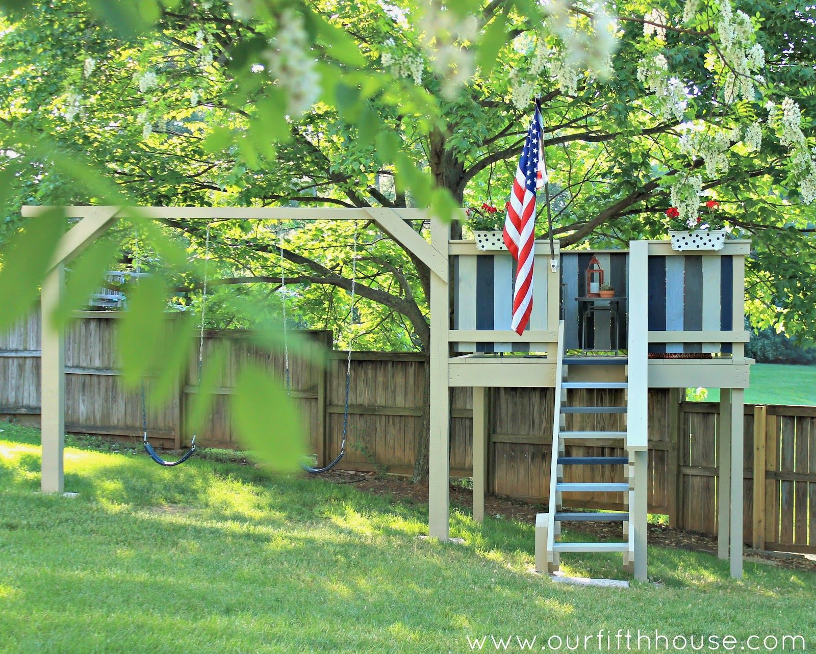 Diy Backyard Kids Playset