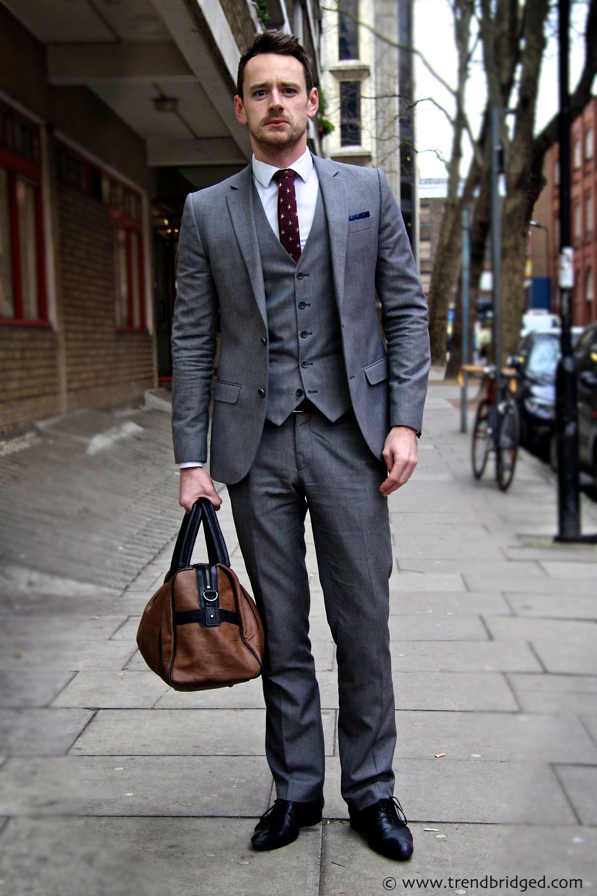 1000  images about Suits on Pinterest | Groomsmen suits, Gray and