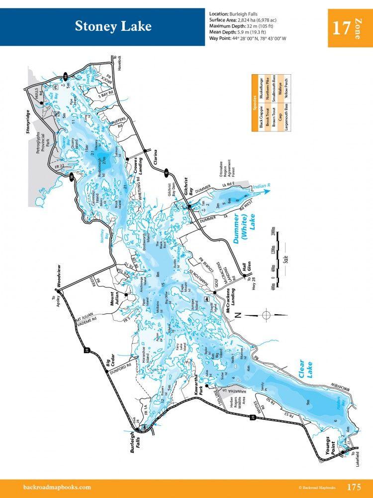 Eastern Ontario Fishing Maps Camping Pinterest Fishing Maps - Ontario fishing lakes maps