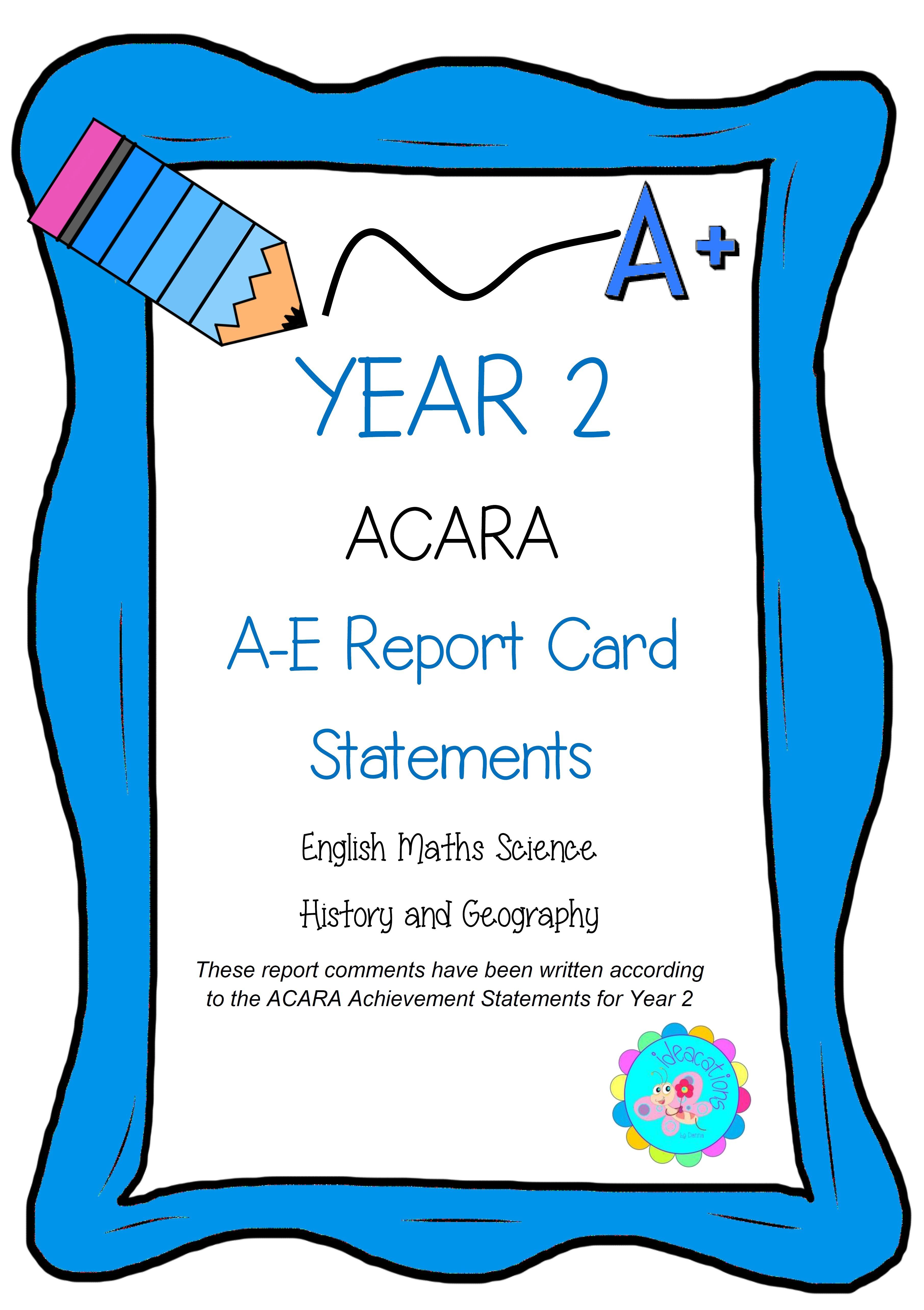 Acara Report Comments A