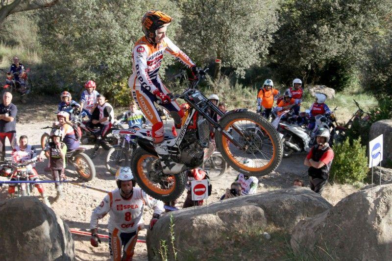 Toni Bou se proclama campeón de España de Trial 2015 en Cal Rosal