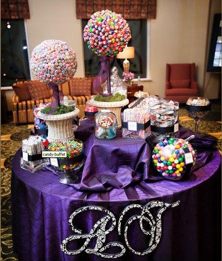 bar a bonbon enfant violet party ideas pinterest mariage violets and sweet 15. Black Bedroom Furniture Sets. Home Design Ideas