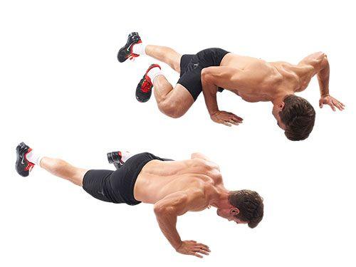 Rutina de ejercicios en casa para hombres sin aparatos