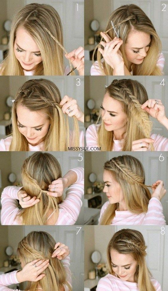 25 Easy Braiding Video Tutorials Braidhairstyle Hairstyleforwoman Womanhairstyle Fcbihor Net Long Hair Styles Cool Hairstyles Hair Styles