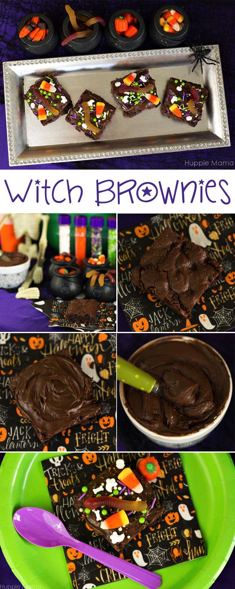 Witch Brownies #WalmartMonsters #MiniMonsters #Walmart AD