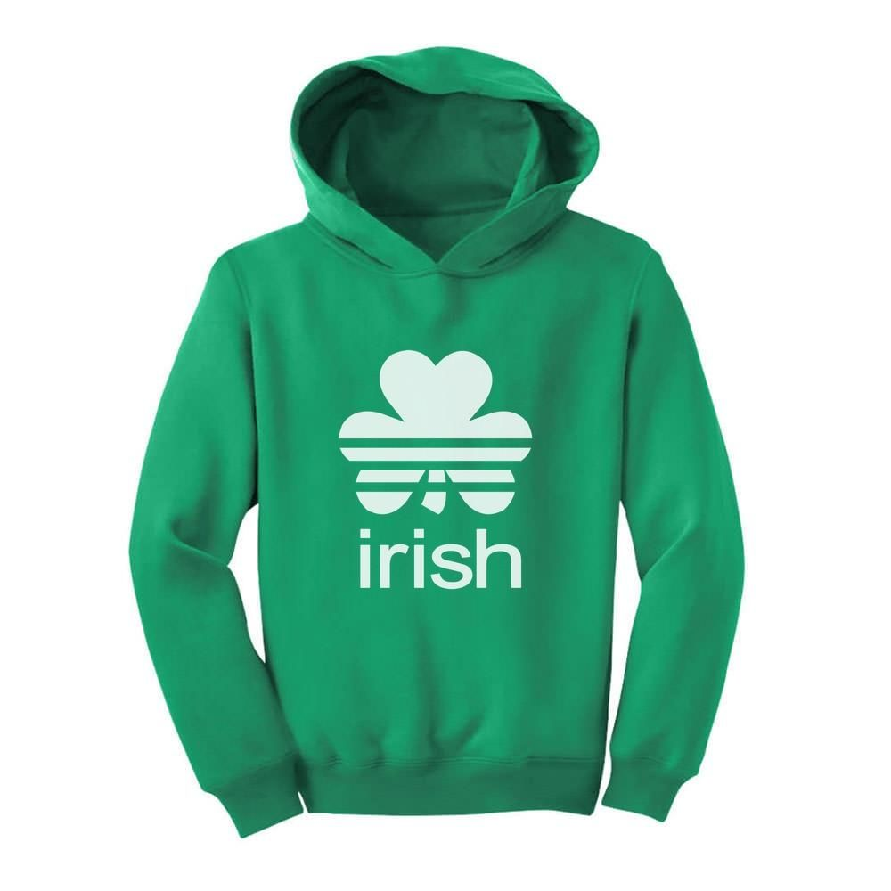 Patrick/'s Day Clover Toddler Hoodie Gift Irish Shamrock Cute St