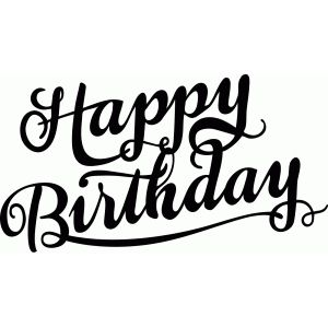 i think i m in love with this design from the silhouette design rh pinterest ca happy 60th birthday clip art free
