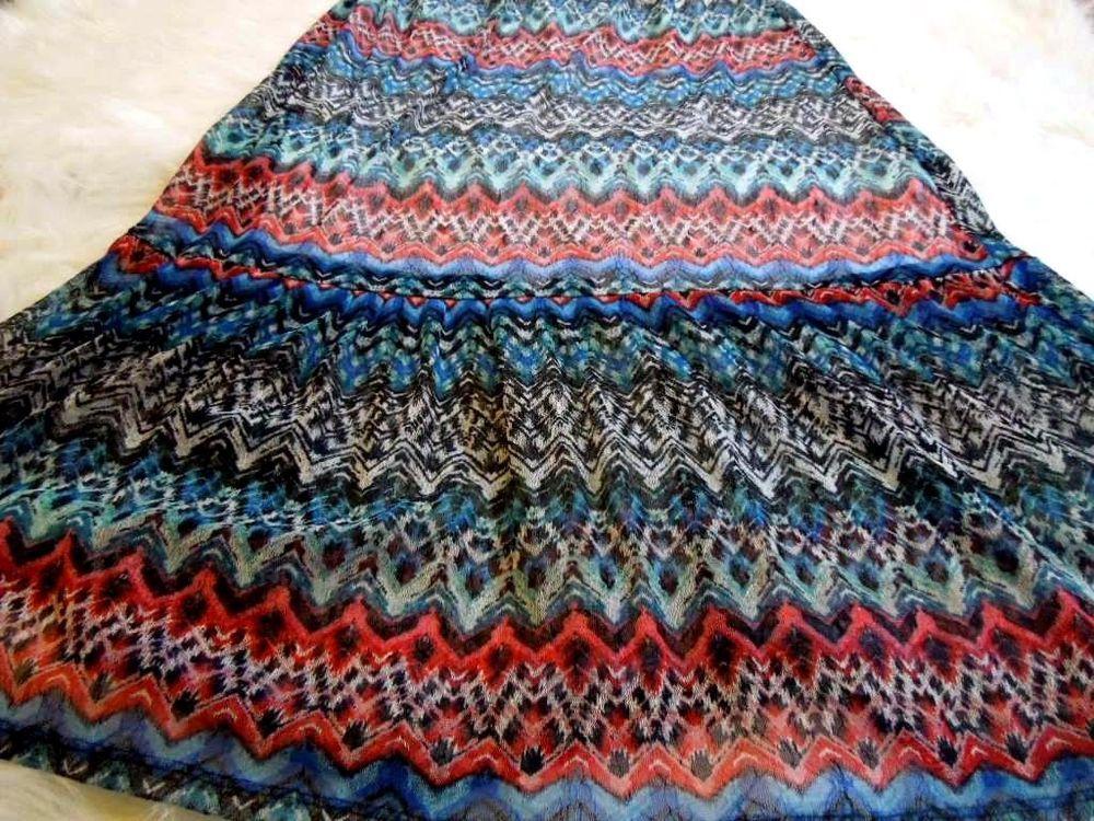 Women Sz XL #SelfEsteem #Maxi #Skirt #Southwestern #LongSkirt #Fashion #SummerSkirt