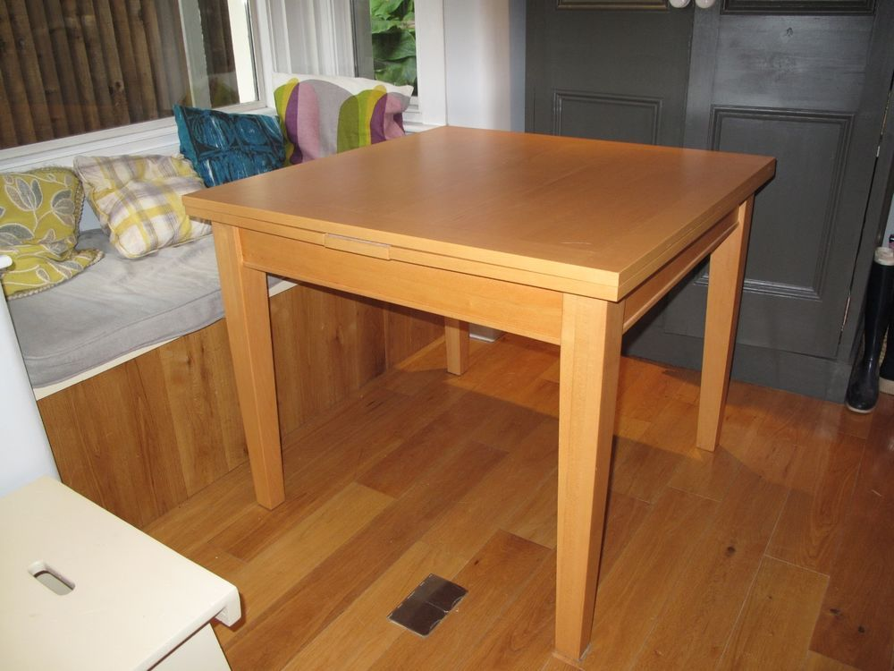 Habitat wooden square extending table collect se26 soft furnishing habitat wooden square extending table collect se26 watchthetrailerfo