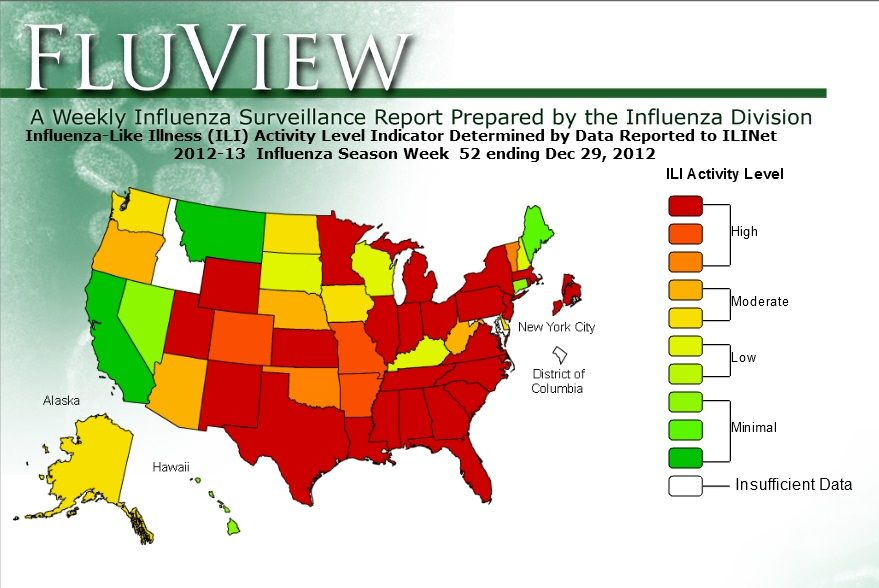 Ideas Map Of The Flu On Ceperxmasdownload - Us flu map 2017