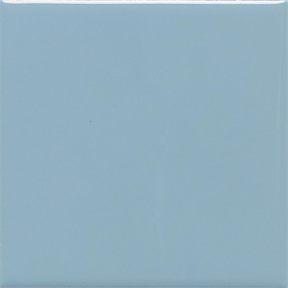 Daltile Semi-Gloss Almond 4-1/4 in. x 4-1/4 in. Ceramic Wall Tile (12.5 sq. ft./ case), Brown