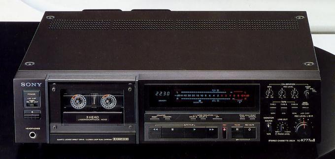 SONY TC-K777ESII  1986
