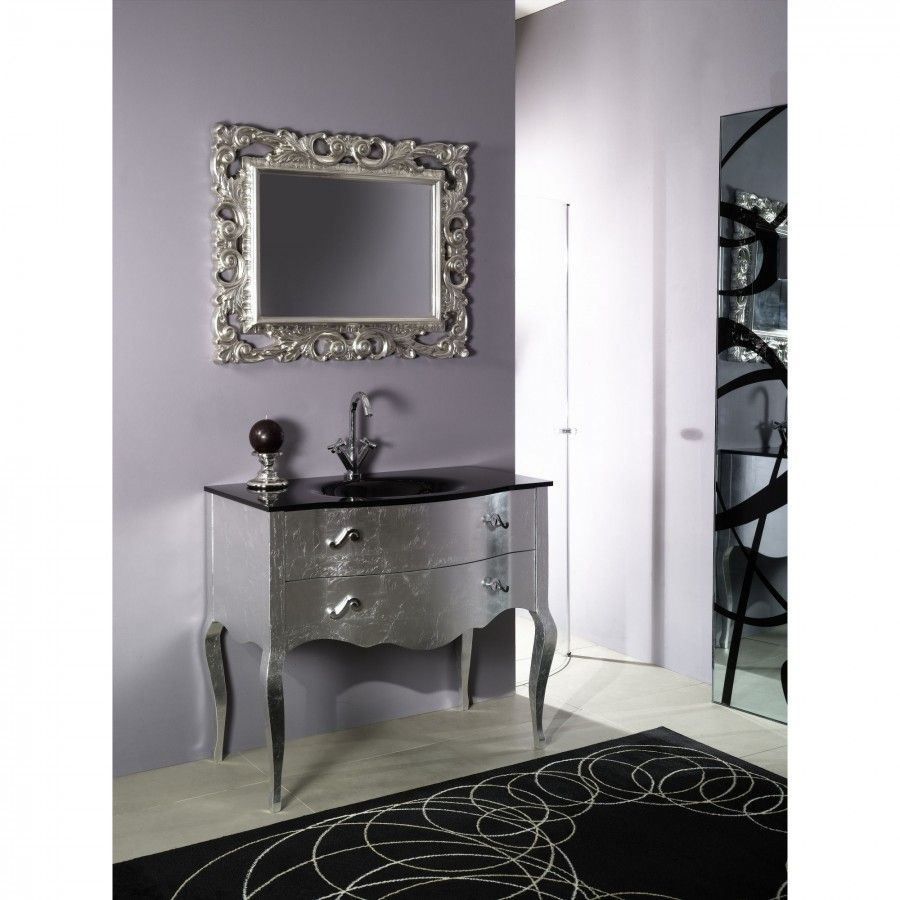 Photo Album Gallery Iotti by Nameeks Boheme Bathroom Vanity Set in Silver Set NB S