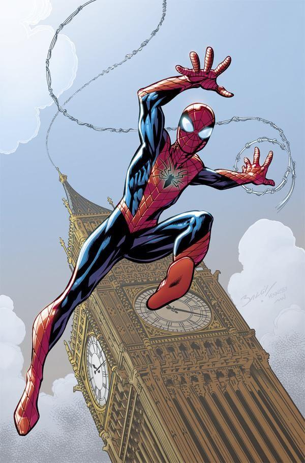 #Spiderman #Fan #Art. (ALL-NEW AMAZING SPIDER-MAN #1 Variant) By: Mark Bagley. (THE * 5 * STÅR * ÅWARD * OF: * AW YEAH, IT'S MAJOR ÅWESOMENESS!!!™)[THANK Ü 4 PINNING!!!<·><]<©>ÅÅÅ+(OB4E)