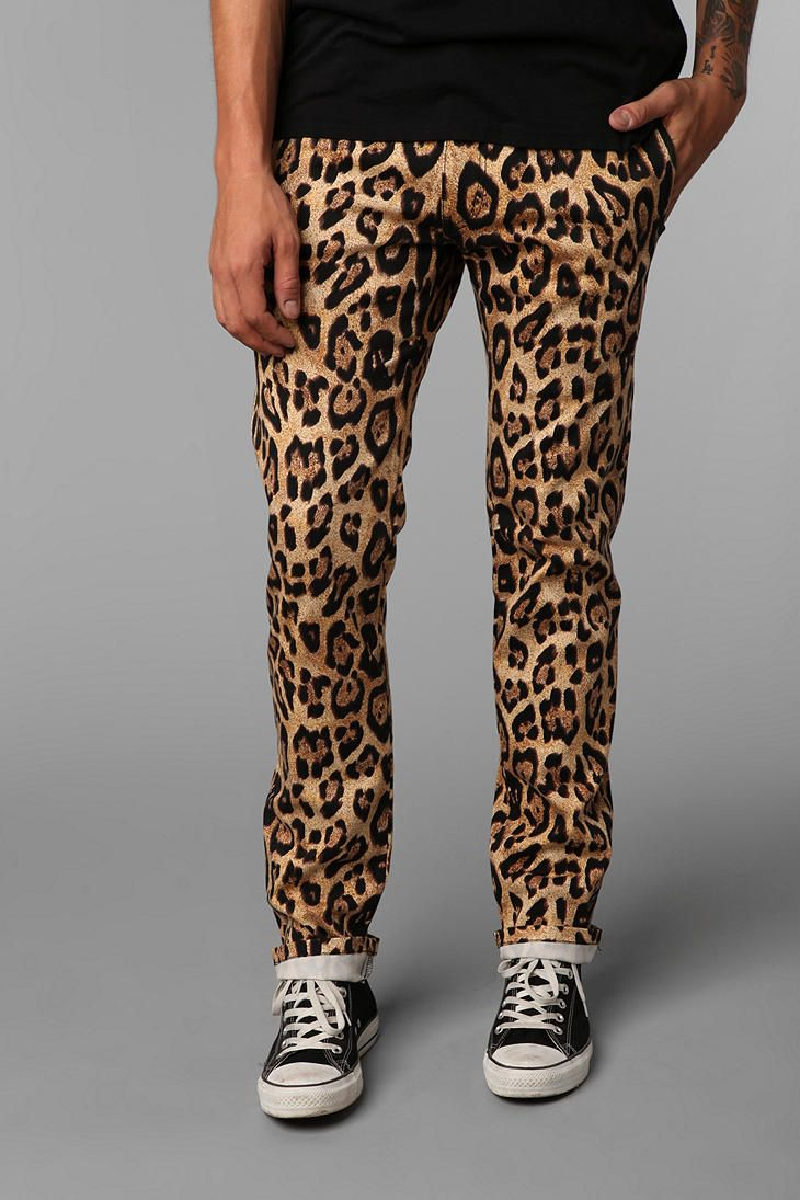 fba993de72d6 Cat on a Hot TIN ROOF....Rusted! They're marvelous! The Tripp NYC Leopard  Print Topcat Pant from Urban Outfitters.