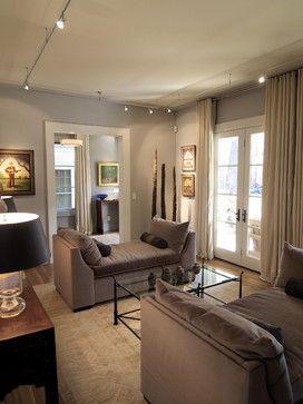 Virginia Highlands House Contemporary Living Room 2 Facing