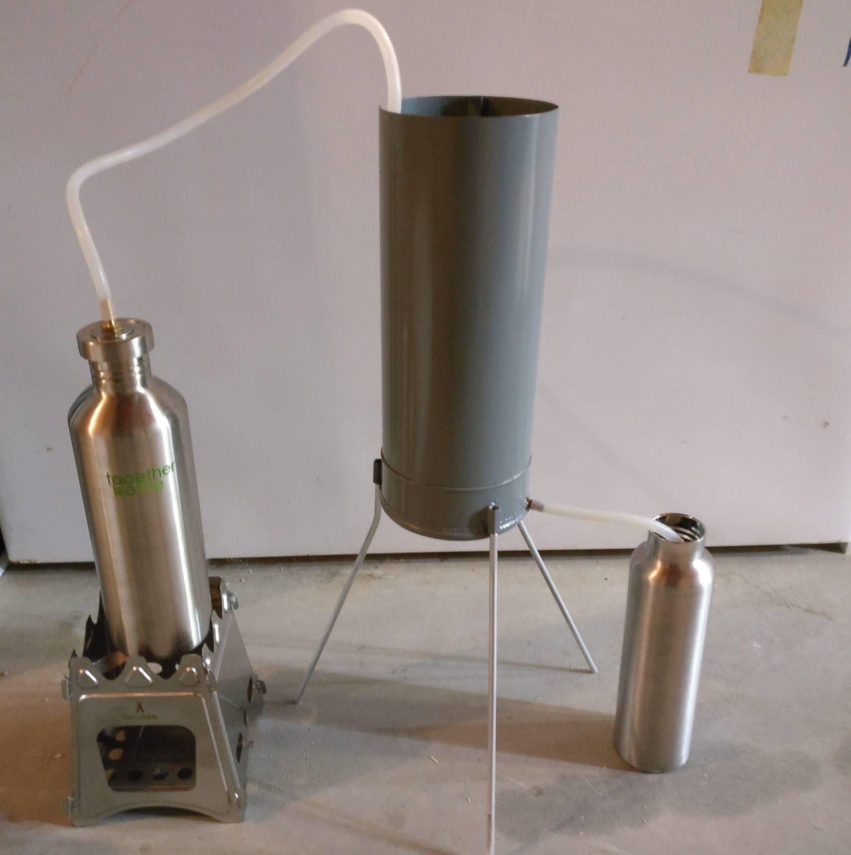 A Portable Water Distiller