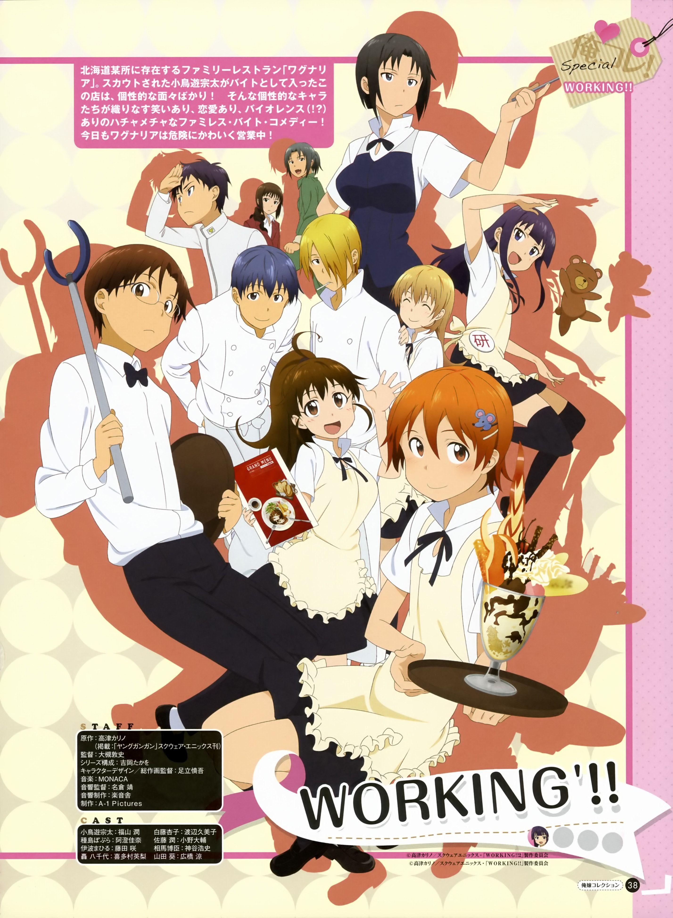 wagnaria anime anime artwork anime characters