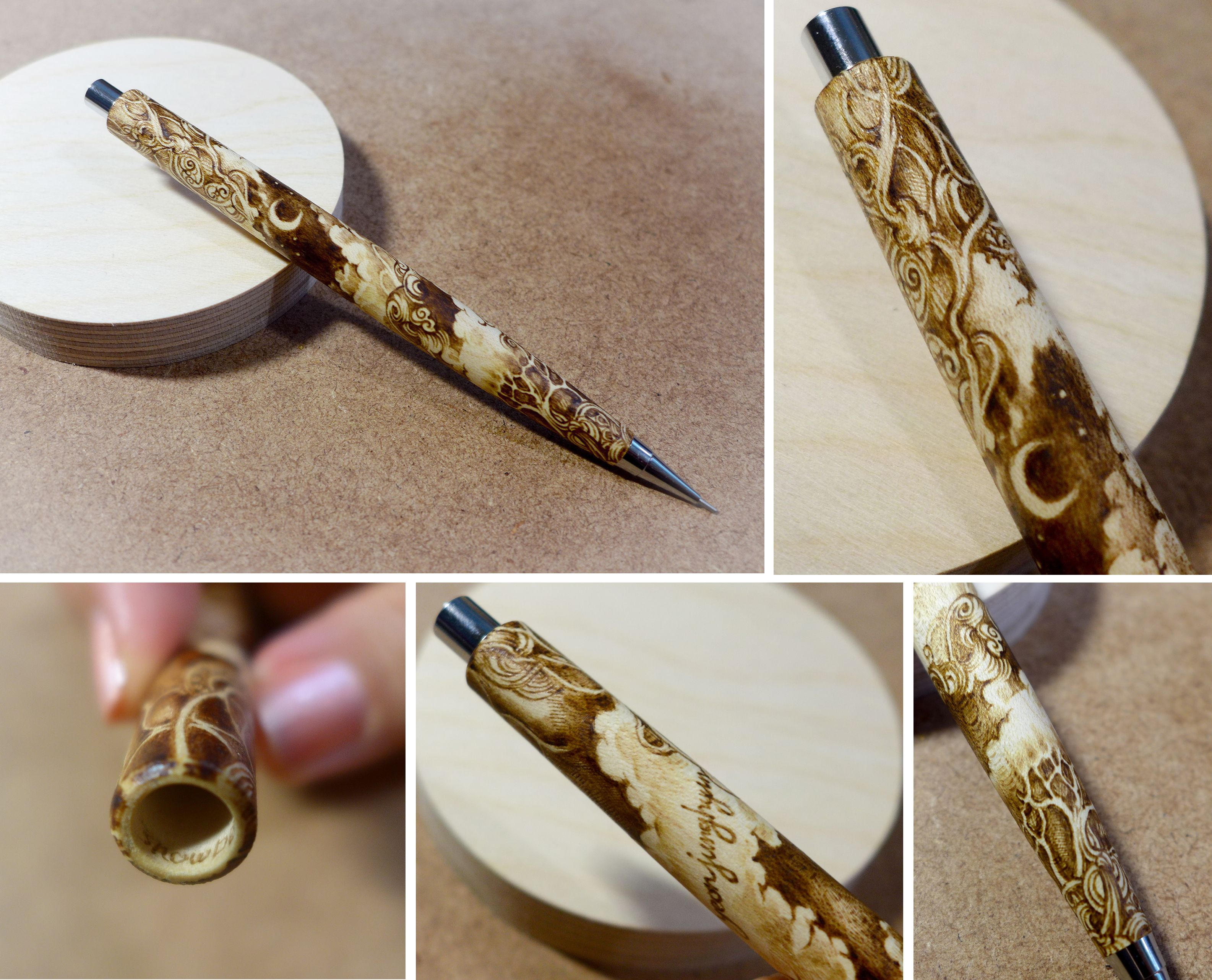 Craft pens to write on wood - Pyrography Wood Burning On Wooden Pen