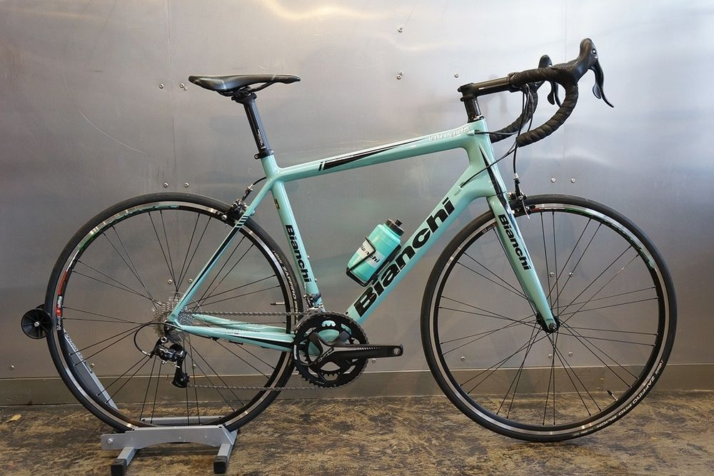 74ad8af5a14 Latest Bianchi Bicycle for sales #bianchibicycle #bianchibike #bike #bicycle  Bianchi 2017 Intrepida Campagnolo Veloce 11sp. 57cm Carbon Road Bike NOS ...