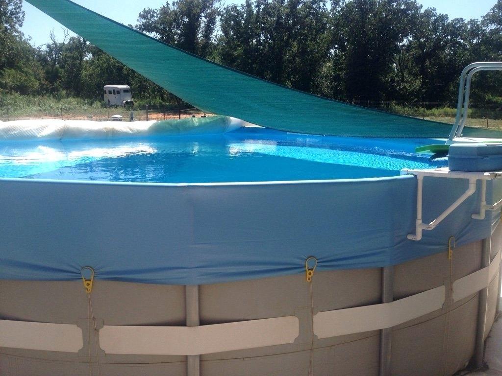 Above ground pool shade improbable ideas sail diy